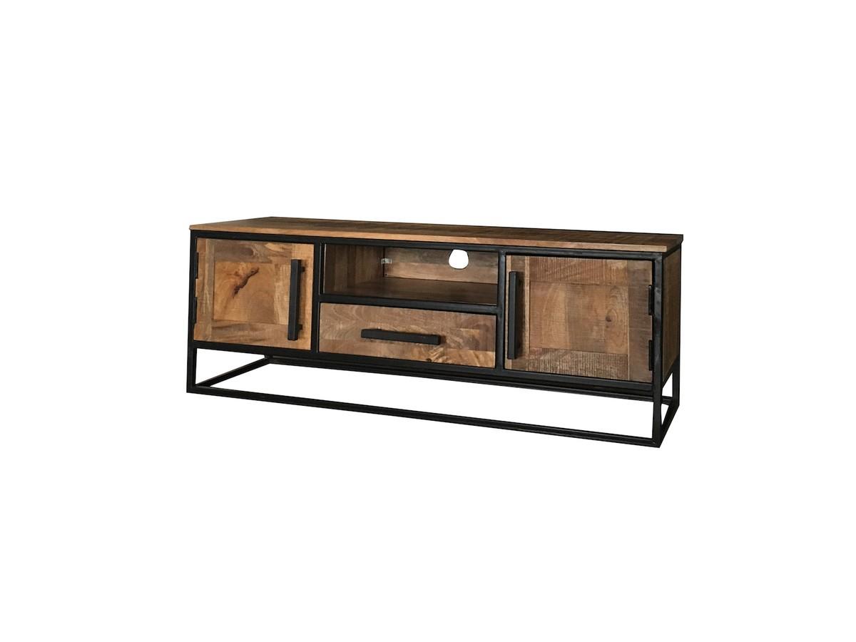 Sideboards und Kommoden - KAWOLA TV Bank INDI Lowboard Holz  - Onlineshop Moebel–style.de
